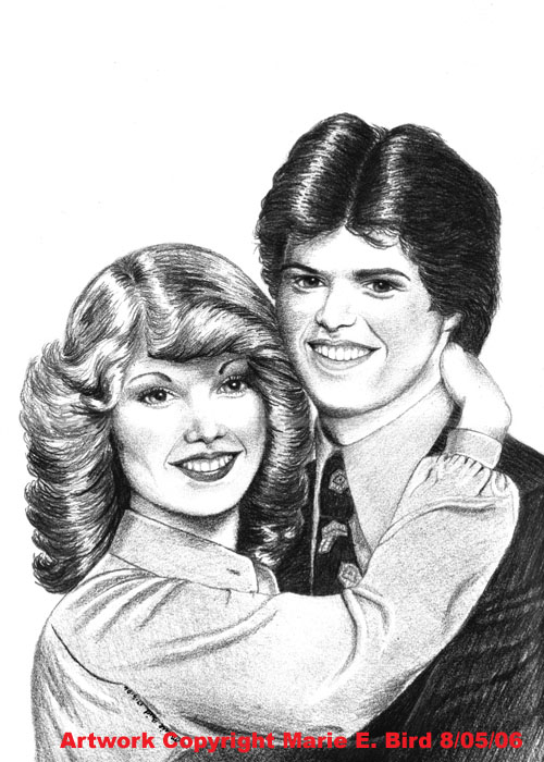 Debbie and Donny Osmond